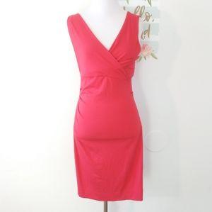 DIANE VON FURSTENBERG red dress. Size S